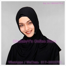 [DindabyV] Solid Color Cotton Jersey Shawl / Sacrf / Hijab CQ812A