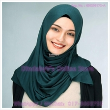 [DindabyV] Solid Color Cotton Jersey Shawl / Sacrf / Hijab CQ812H