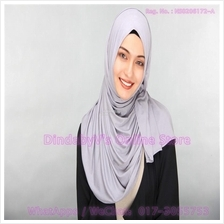 [DindabyV] Solid Color Cotton Jersey Shawl / Sacrf / Hijab CQ812G