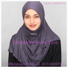 [DindabyV] Solid Color Cotton Jersey Shawl / Sacrf / Hijab CQ812F