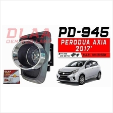 Perodua Axia 2017 2018 OEM Fog Lamp Light + LED Door Sill + Boot Tray