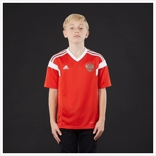 Russia Kid Home World Cup 2018 CLIMALITE Fans Jersey and Short
