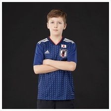 Japan Kid Home World Cup 2018 CLIMALITE Fans Jersey and Short