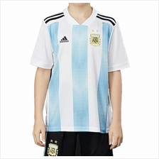 Argentina Kid Home World Cup 2018 CLIMALITE Fans Jersey and Short