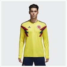 Colombia Men Home Long Sleeve World Cup 2018 CLIMALITE Fans Jersey