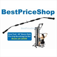 Gym Tool - 48 inch Heavy Duty Pro Grip Revolving Lat Bar JH-LB48R