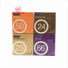 Care Condoms Fragrance 3pc X 4(G-Spot, Vanilla, Chocolate, Skin Tight)