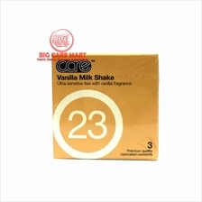 Care Vanilla Milk Shake Fragrance Condoms 3s