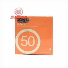 CARE 50 G-SPOT CONDOMS 3´S