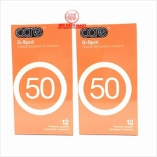 CARE 50 G-SPOT CONDOMS 12´S X 2 packs