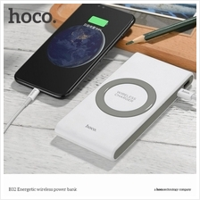 NEW !!! HOCO 8000mAh Type C Wireless Charging Power Bank B32