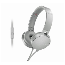 SONY Headset Wired EXTRA BASS (MDR-XB550AP/W) WHITE