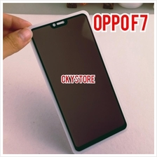 VIVO V11 V11i V9 Y85 / OPPO A3S F7 F9 FULL Privacy Tempered Glass