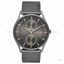 SKAGEN SKW6180 Men's Holst Day-Date Mesh Bracelet Grey