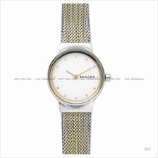 SKAGEN SKW2698 Women's Freja 2-hand Glitz Mesh Bracelet Two-tone
