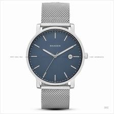 SKAGEN SKW6327 Men's Hagen 3-hand Date Interchange Mesh Bracelet Blue