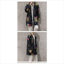 557793862009 Chinese style men's coat robe cardigan windbreaker