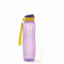 Tupperware  New Slim Eco Bottle (1) 1L with Strap - Purple