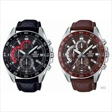 CASIO EFV-550L EDIFICE chronograph retrograde leather strap *Variants