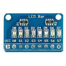 8 LED Bar Module with 4 Kinds of Color for Arduino  IO Test Indicator