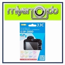 JJC GSP-200D Tempered Glass LCD Screen Protector for Canon 200D