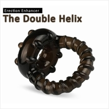 Toys Double Helix Erection Enhancer Ring Man Sex Play (Tahan Lama)