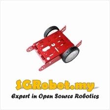 Aluminum 2WD Robot Smart Car Chassis Kit Set A30
