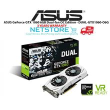 ASUS GeForce GTX 1060 6GB Dual-fan OC Edition - DUAL-GTX1060-O6G