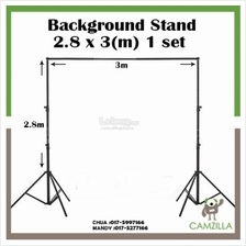 BGS Adjustable 3x2.8m Pro Portable Heavy-Duty Backdrop Support System