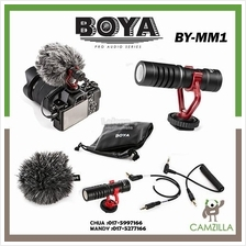 BOYA BY-MM1 Universal Cardiod Shotgun Microphone for iPhone 7 6 6s
