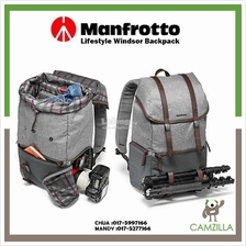 Manfrotto Lifestyle Windsor Backpack (Gray) MB LF-WN-BP