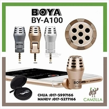 BOYA BY-A100 Omni Directional Condenser Microphone for IOS Android