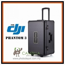 ALUMINUM TROLLEY CASE FOR DJI PHANTOM 3 STANDARD PROFESSIONAL AND ADVA
