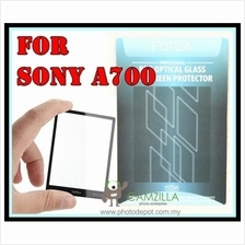 FOTGA Clear Optical Glass Mirror LCD Screen Protector for Sony A700