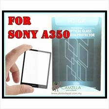 FOTGA Clear Optical Glass Mirror LCD Screen Protector for Sony A350