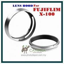 Camzilla Fuji X100 Lens Hood & Thread filter holder 49mm