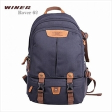 Winer Rover 62 DSLR Camera Backpack - Blue (With Rain Cover)