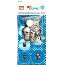 Love Button fabric Owl + 7 Buttons