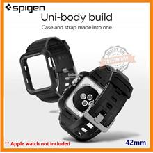 Spigen Rugged Armor Pro Apple Watch Band with Case 42mm series 3 2 1