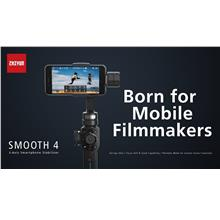 Original Zhiyun Smooth 4 Filmmaker 3 axis  Smart Phone Stabilizer