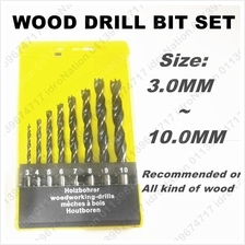8pc Shank Wood Work Drill Bits Hole Saw Set Kit Working 3MM ~ 8MM