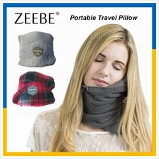 ZEEBE Travel Pillow Neck Protector Rest Support Case Fitted Compact