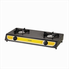 Khind Gas Cooker GC6010 (10x10cm Beehive Burner) Black Enamel Coated Body