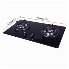 Khind Built-in Cooker Hob HB802G (10cm) Tempered Glass Cooktop