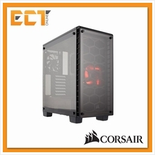 Corsair Crystal Series 460X Compact ATX Mid-Tower Case - Black