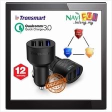★ Tronsmart (Ori) C3PTA 3Port 42W Quick Charge 3.0 Car Charger