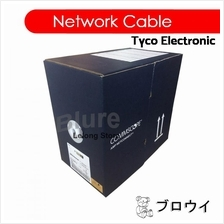 TYCO Network Cable CAT5E / CAT-5E AMP LAN (305 meters Grey)