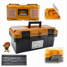 SNELL 410*220*200cm 17inch PVC Plastic Multipurpose Tool Box 2 Layer L