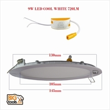 SMD 9W 4 720LM Led Panel Downlight Round LED Ceiling Recessed Light D