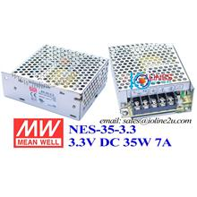 Mean Well RS-35-3.3 3.3V 7A 35W switching power supply meanwell PSU